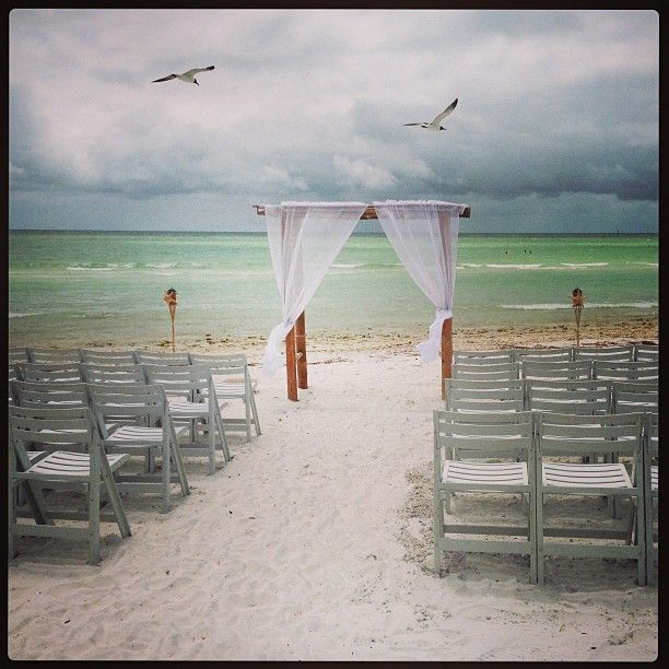 Nossa captura de um casamento na praia :)