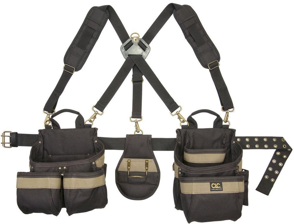 Heavy Duty Framers 5-Piece Comfortlift Combo Tool Belt System 23 Pocket