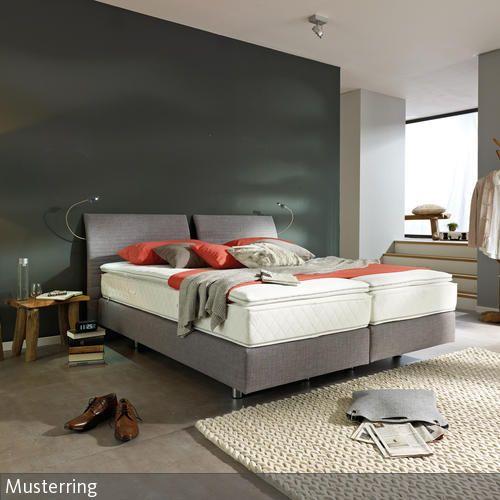 Boxspringbett Im Klassischen Schlafzimmer Farben Pinterest