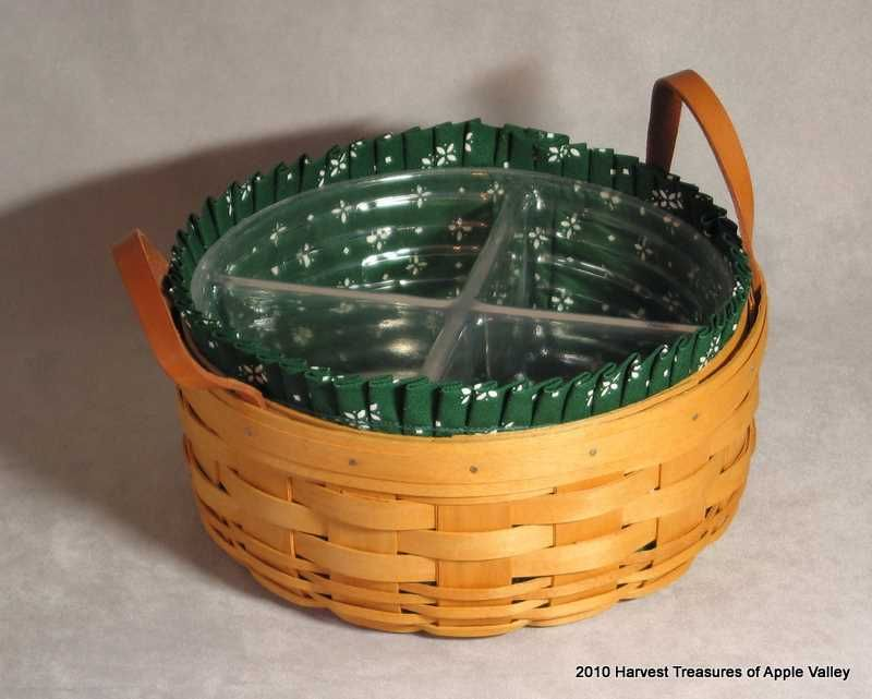 LONGABERGER 1998-1999 Top Half Of Protector For Your Snap Dragon Vase BASKET