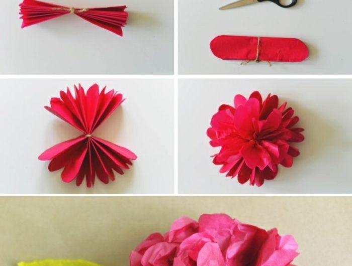 1001+ Ideen, wie Sie Papierblumen basteln können