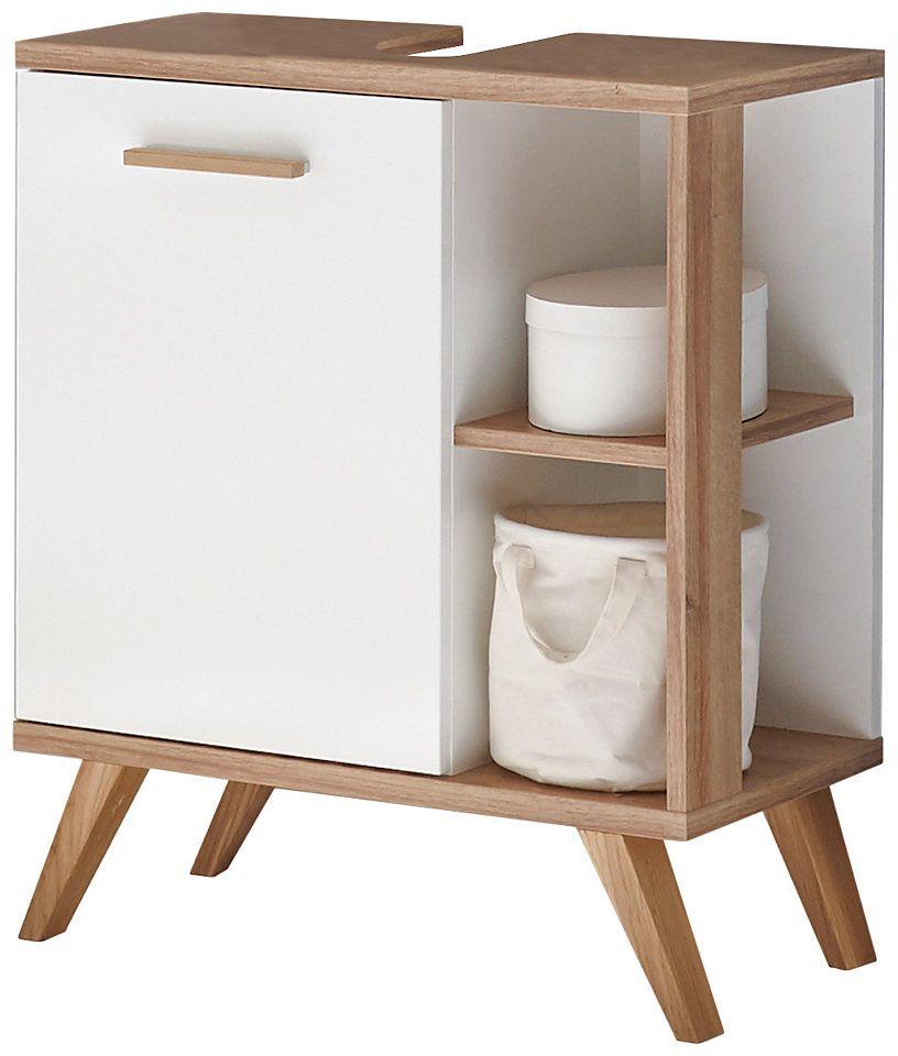PELIPAL Waschbeckenunterschrank »Noventa Waschbeckenunterschrank - dänisches bettenlager badezimmer