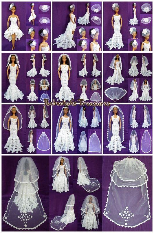 Part 3 Wedding Accessories Veils Crochet Pattern For