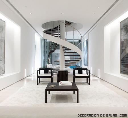 Genial Escaleras Para Apartamentos Pequeños