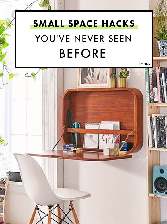 30 Small Space Hacks You Ve Never Seen Before Small Apartment Furniture Small Apartment Decorating Apartment Furniture