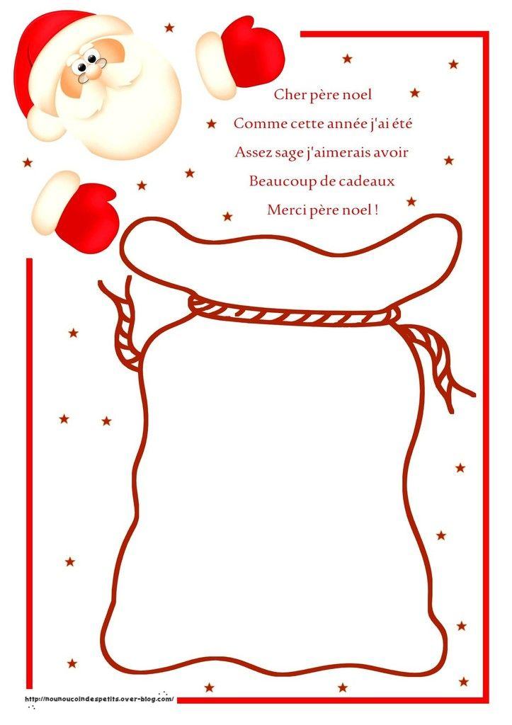 Bien connu Ma liste au Père Noel .. … | Pinteres… GU85