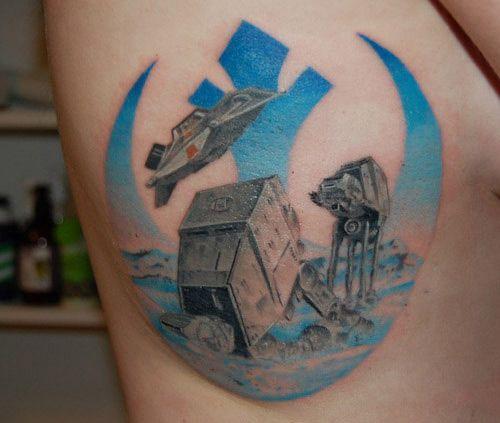 Star Wars Tattoo 3 Ink Star Tattoos Star Wars Tattoo