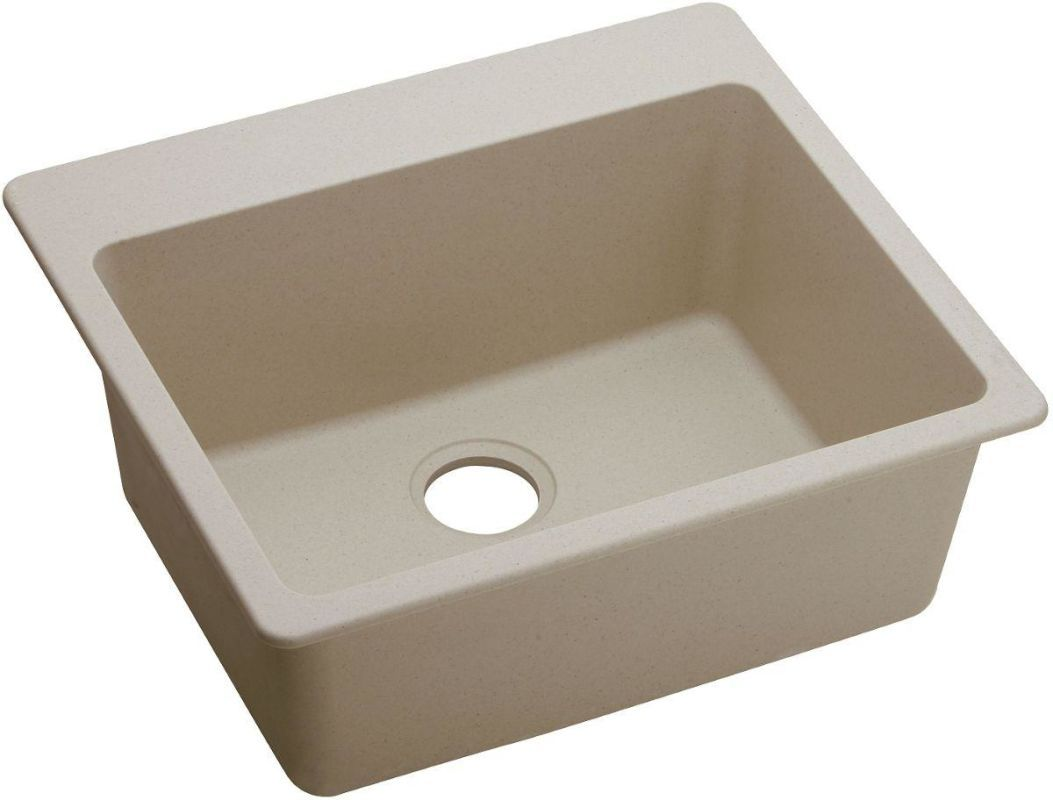 Kitchen Sinks Granite Composite Elkay Elg2522 Gourmet 25 Single Basin Granite Composite Kitchen