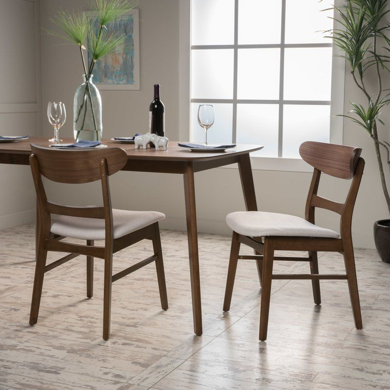 Barroso Solid Wood Dining Chair Solid Wood Dining Chairs Dining Chairs 5 Piece Dining Set