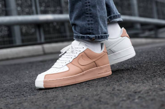 fc4e2413 Get The Nike Air Force 1 '07 Premium Split Vachetta Tan Now | Nike ...