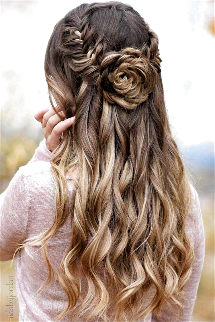 Prom Hoco Hair Wedding Updo Hairstyles Braid Styles For Long Or Medium Length Hair Easy Braids For Black Hair Prom Hairstyles For Long Hair Long Layered Hair