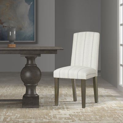 Beachcrest Home Louis Upholstered Dining Chair Parsons Dining