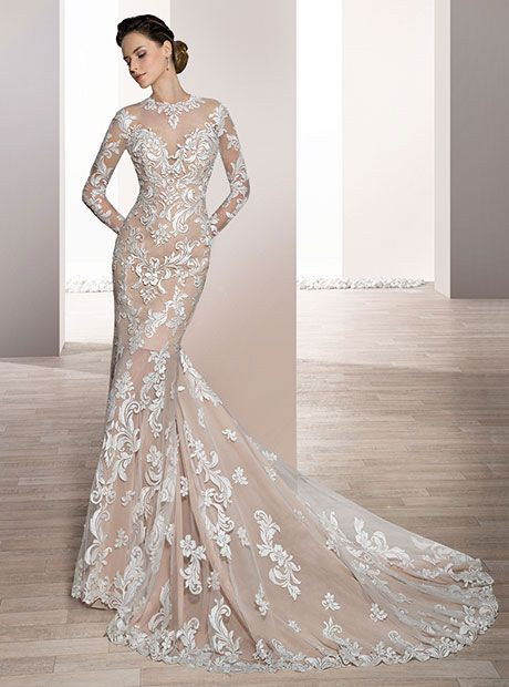 Demetrios Wedding Dresses Bridal Shop Macy S Gown Gallery Wedding Dresses Bridal Dresses Wedding Dress Long Sleeve