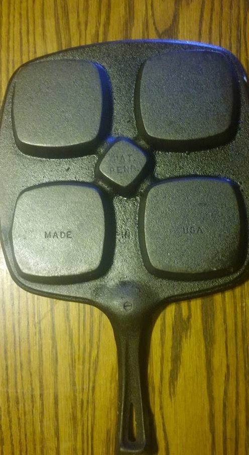 Wagner Square Benedict Egg Pan (no lid). $50.00