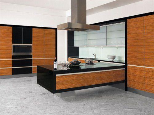 perfekte kücheninsel - schlicht und stilvoll