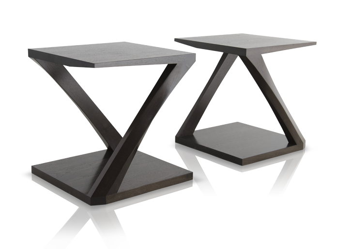 Z Side Table Hellman Chang Side Table Modern Console Tables Mid Century Modern Console Table