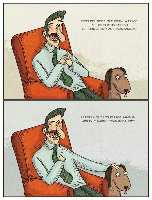 Los perros ladran cuando.....