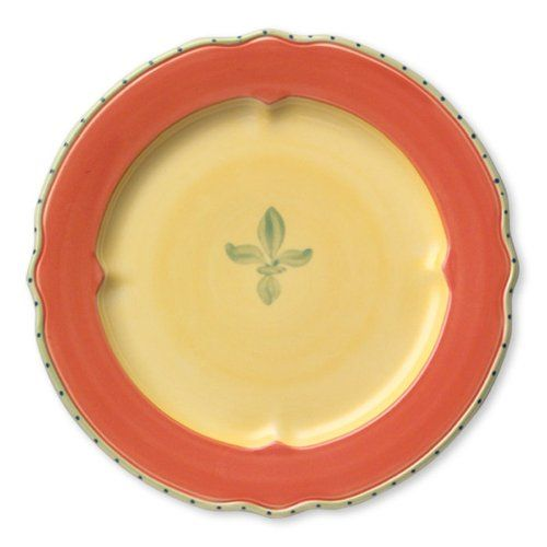 Pfaltzgraff Pistoulet Dinner Plate with Red Band - Red|Yellow Pfaltzgraff http://www.amazon.com/dp/B004GIJO72/ref=cm_sw_r_pi_dp_ICeSvb13Y12F6