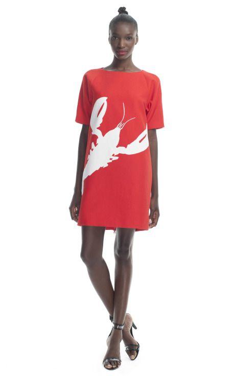 tibi resort and cajun we love this oversized shirt dress breezy