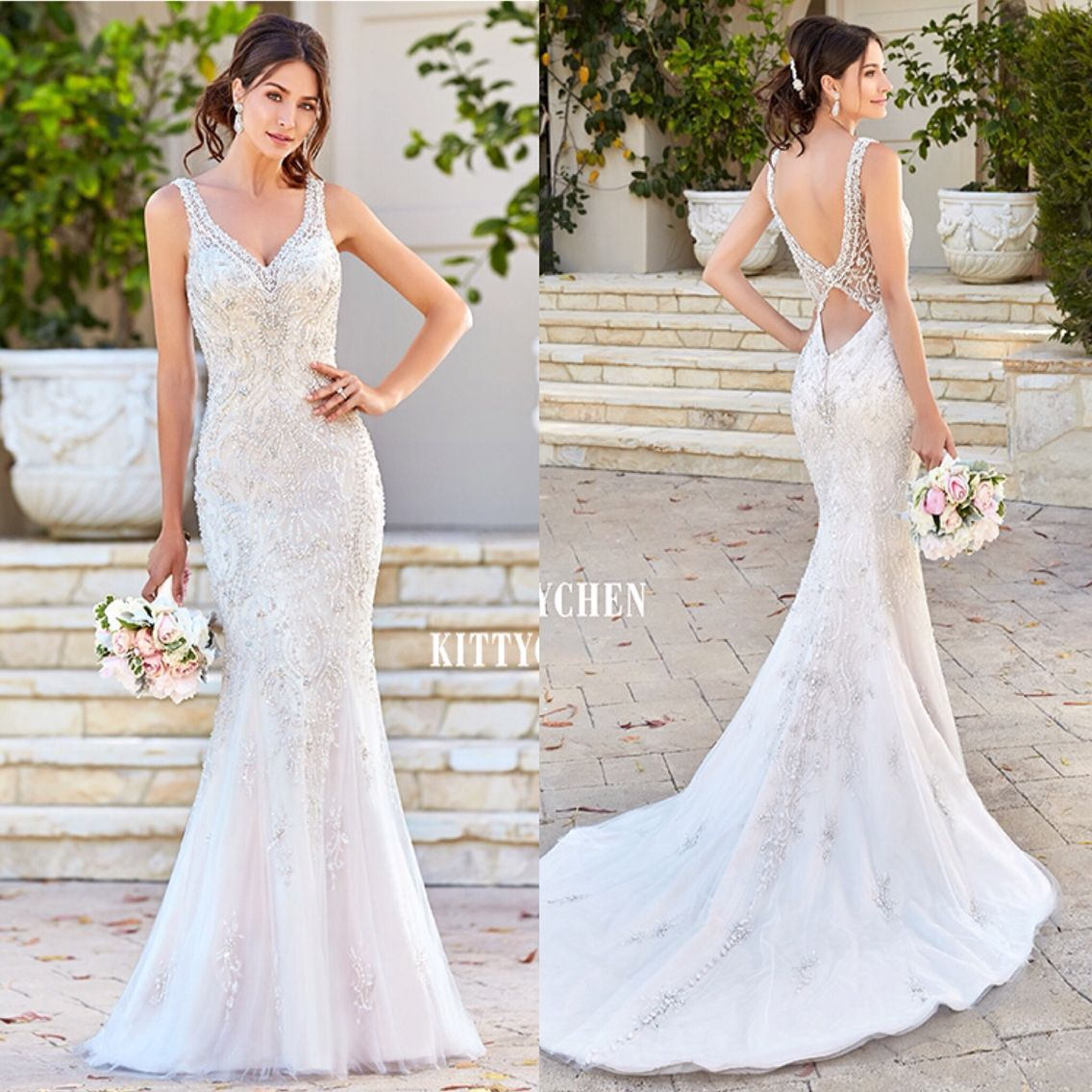 New from Kitty Chen. Now available at Mia Bella. #miabellacouture ...