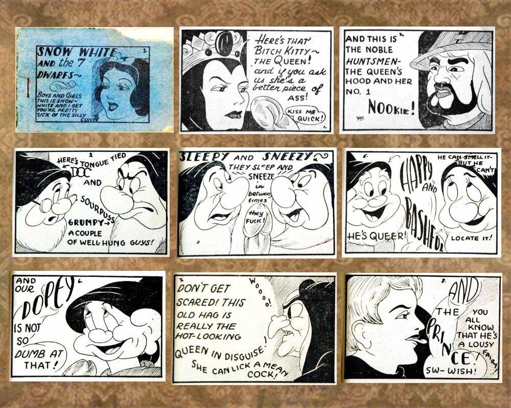 TJB Snow White | Tijuana Bibles | Pinterest