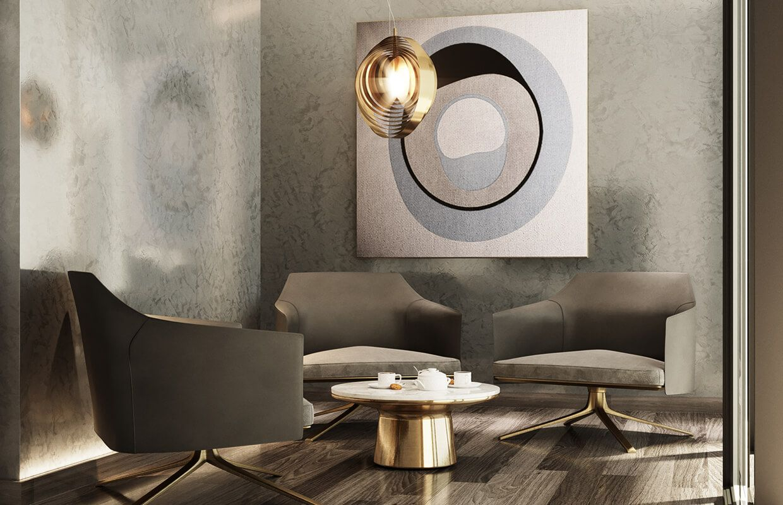 interior design of luxury modern residence  riyadh saudi
