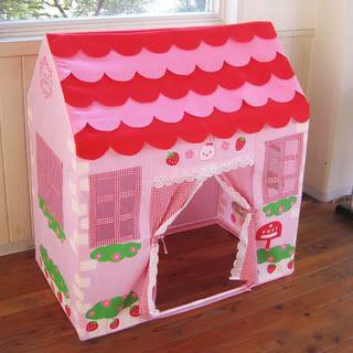 USAMOMO Strawberry Cubby House $129.99 Available from www.zazzi.com.au