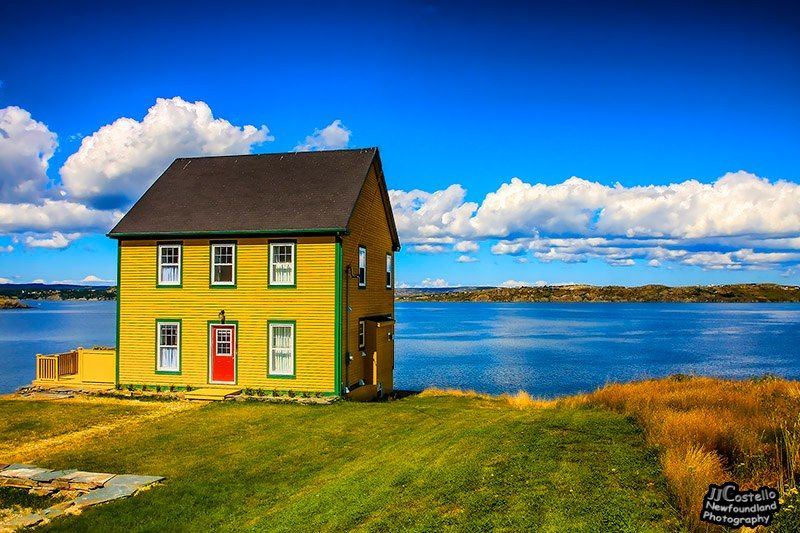 saltbox house newfoundland  Google Search  Colonial