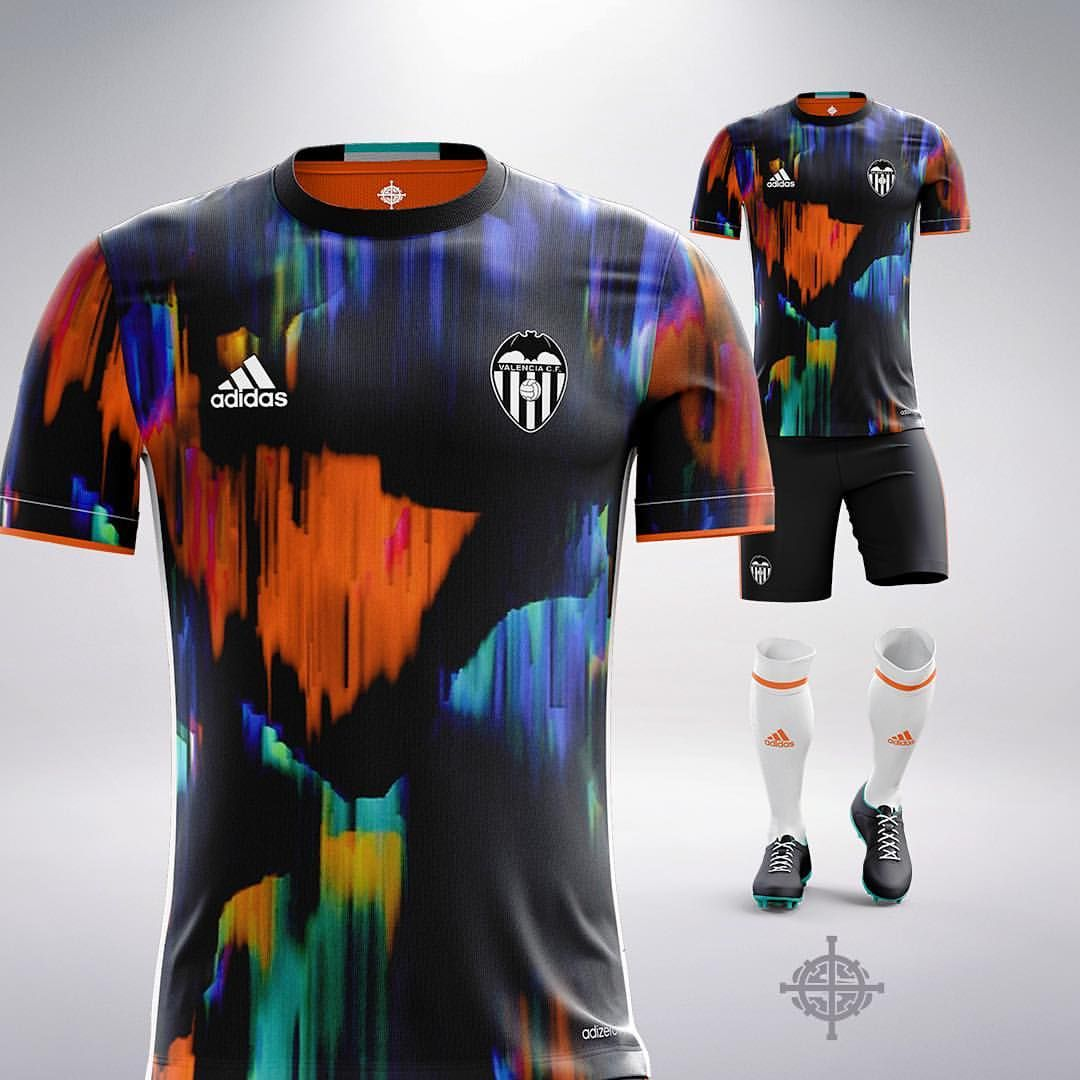 d4e9c9a84a976 Adidas x Y3 Inspired Football Kit Concept for Valencia by  SETTPACE     MarlonSETTPACE . What jersey should I do next
