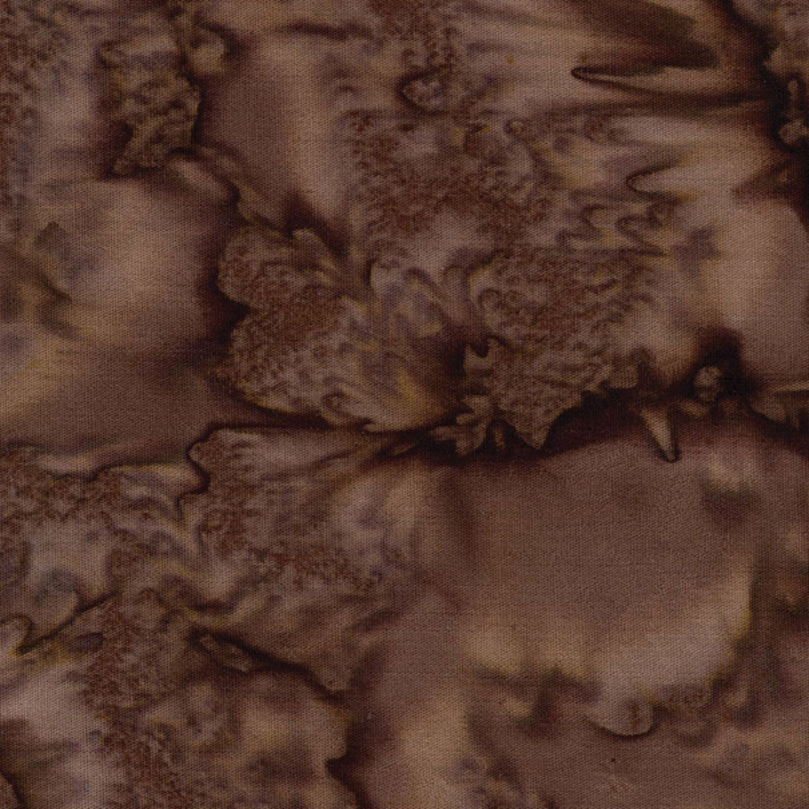 Fresh Water Java Rain Wash Dark Brown Bali Batik Fabric By the Yard GALJAB03-05
