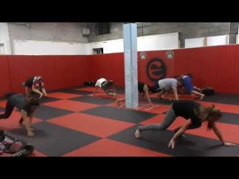 Bodyweight Workout for MMA, BJJ, Muay Thai Fighters
