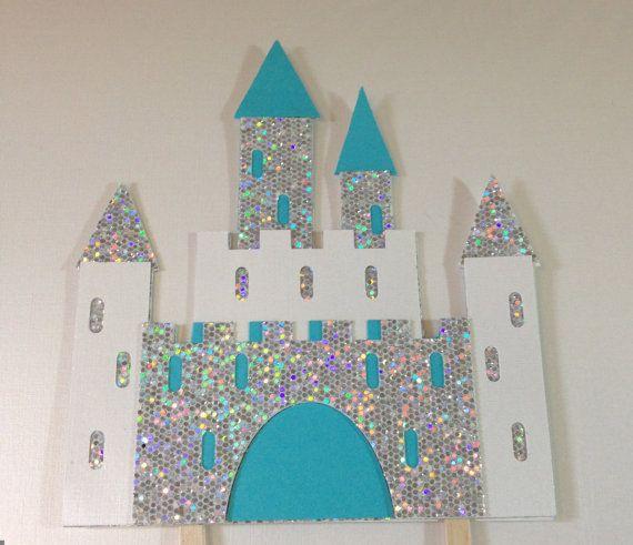 Ice Frozen Castle Cake Topper Princess By Jellybeanpaper On Etsy Frozen Castle Happy Birthday Cake Topper Frozen Castle Cake