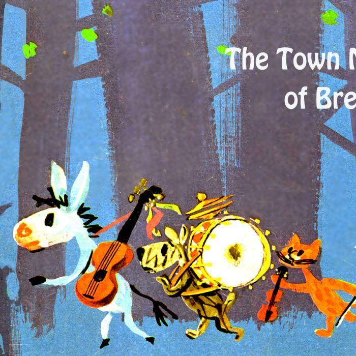 die bremer stadtmusikanten  fairy tales bremen painting