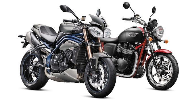 Triumph Motorcycles is excited to announce two special edition SE ...
