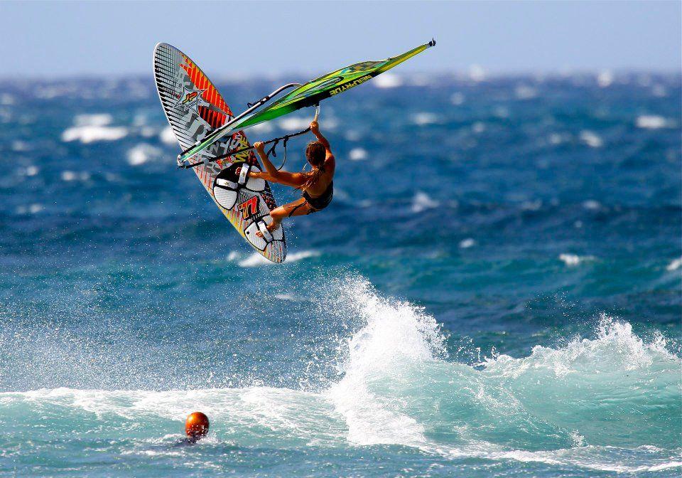 windsurf girl | The Windsurfer | Windsurfing, Surfing, Sup surf