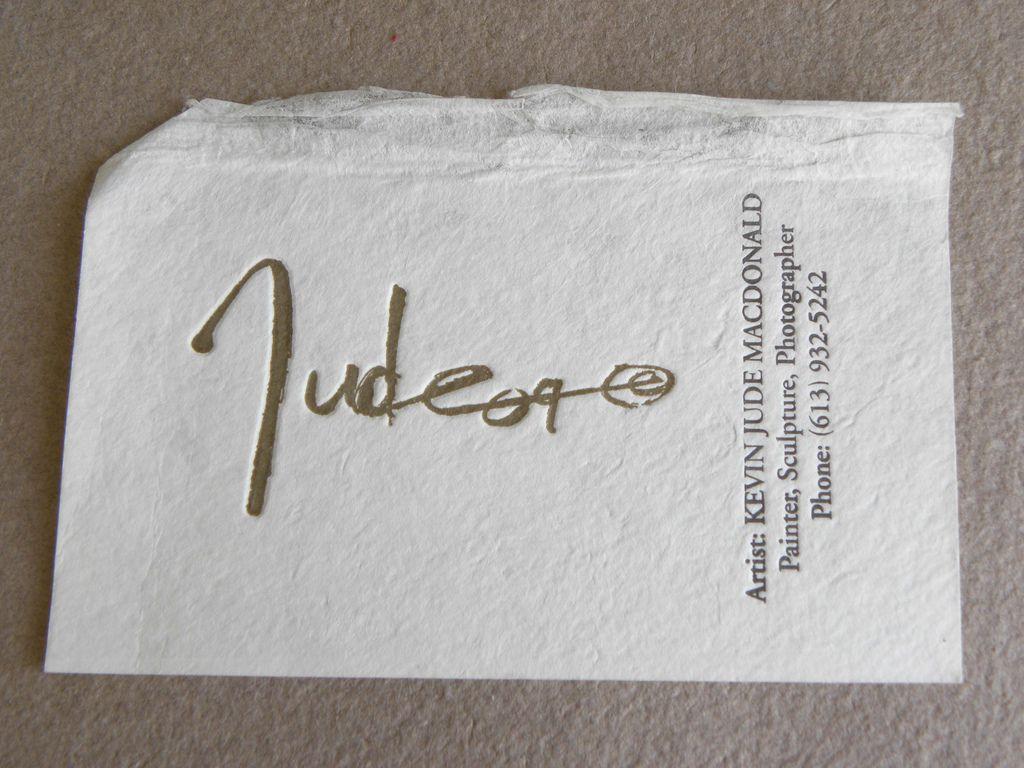 Letterpress Business Card - Handmade Paper | Letterpresses ...