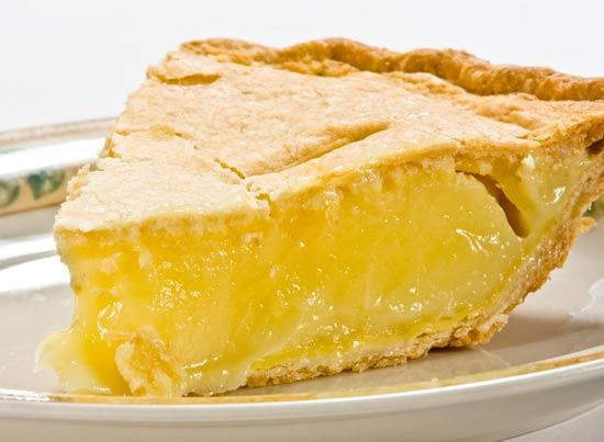 Пирог с лимоном из песочного теста рецепт