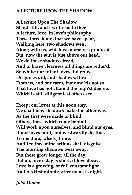 John Donne English Poet Poem Pretty Words The Sun Rising Analysi