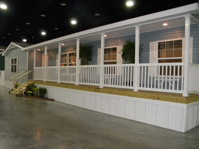 Mobile homes for sale 24 900 factory expo home centers for Single wide floor plans with porch