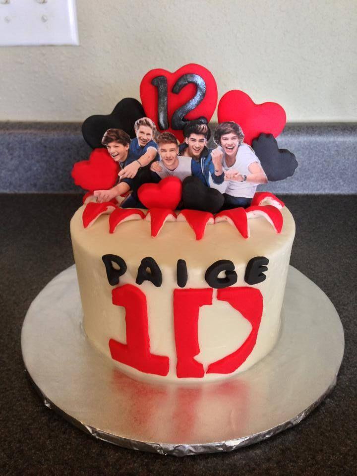Onedirection 1d Birthday Cake Harrystyles Cake Birthday Cake Desserts