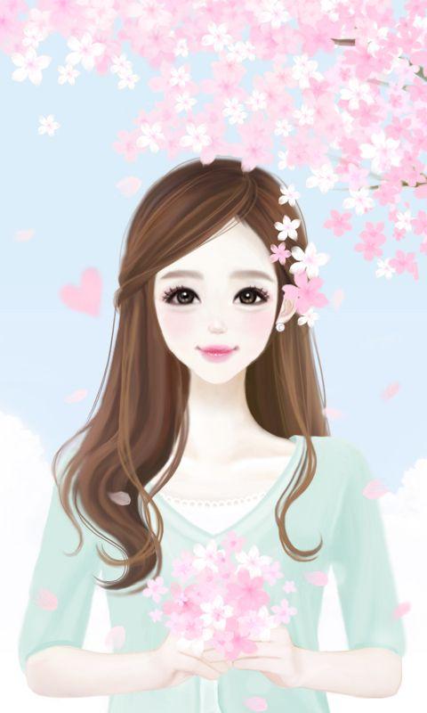 Enakei Cherry Blossom Illustrate Factory Pinterest Art Cute