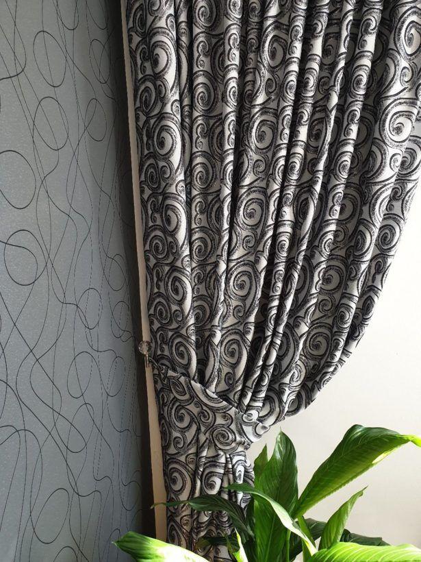 Schwarze Und Silberne Vorhänge Vorhang Silber Glckler