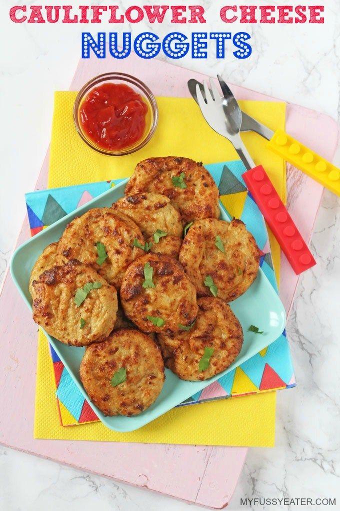 Cauliflower Cheese Nuggets