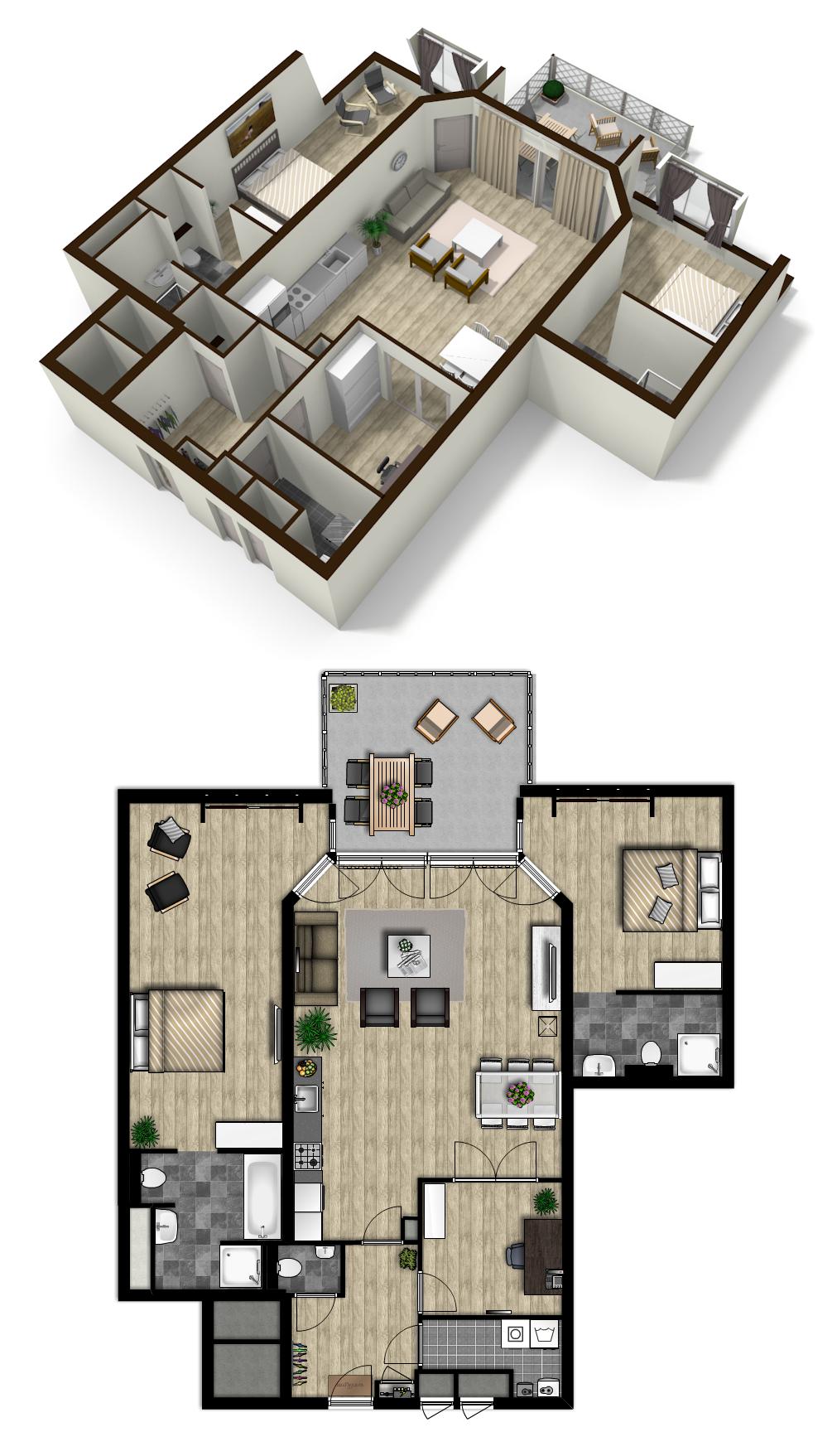 Lovely Attic Loft Made In Floorplanner Com Wonen