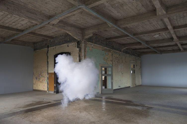 Berndnaut Smilde — Antipode  http://www.weheart.co.uk/2014/04/14/berndnaut-smilde-antipode-at-ronchini-gallery-london/