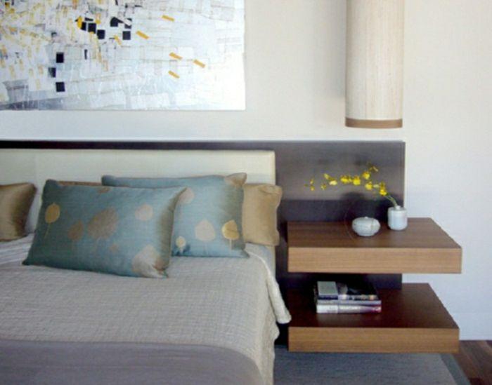 Nachtisch zum Einhängen an bett solid | Traumhaftes Schlafzimmer ...