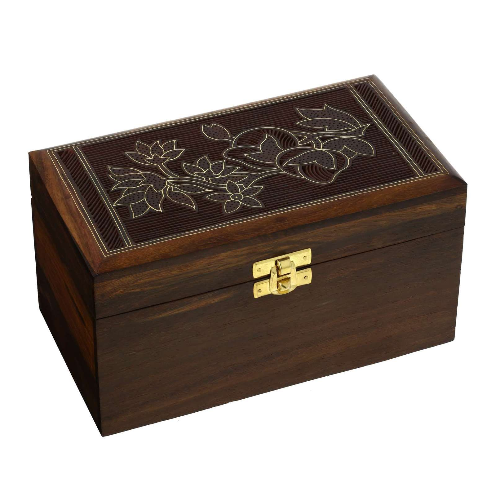 Indian Jewelry Box Handmade Birthday Gifts Women Floral ...