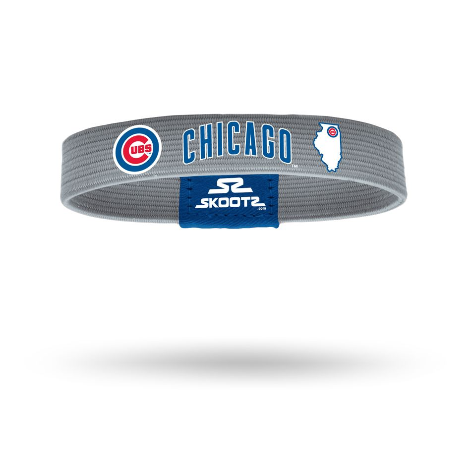 Products Mlb Chicago Cubs Chicago Cubs Fan Bracelet
