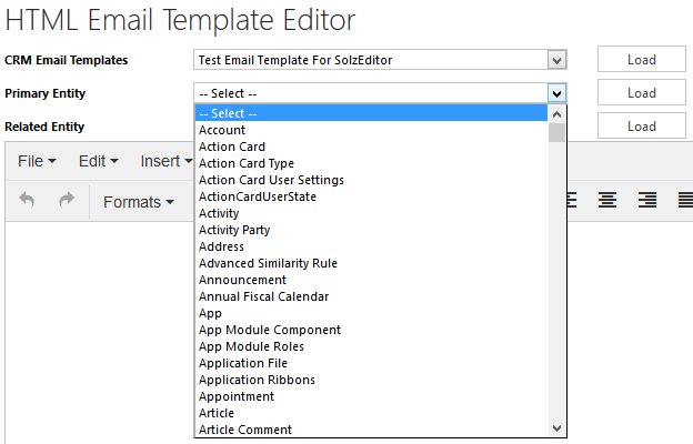 Use Custom Entities And Related Entity Attributes In Email
