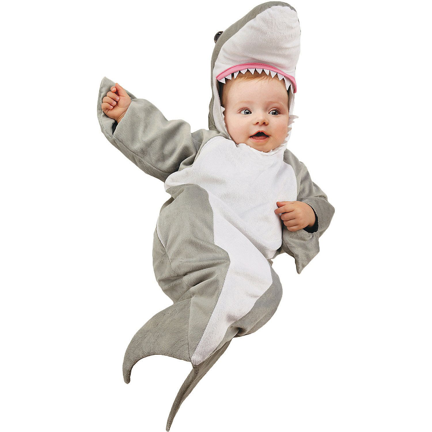 baby shark bunting costume 0 6 months